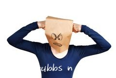 http://www.dreamstime.com/royalty-free-stock-image-person-punshing-itself-paper-bag-head-isolated-image30694226