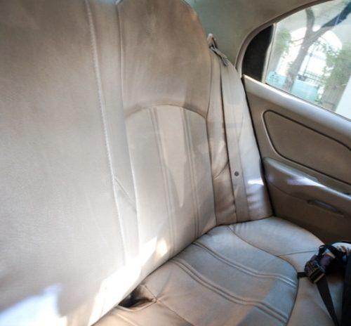 no seatbelt